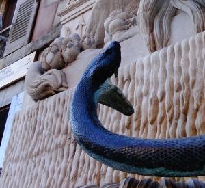 snake laughing